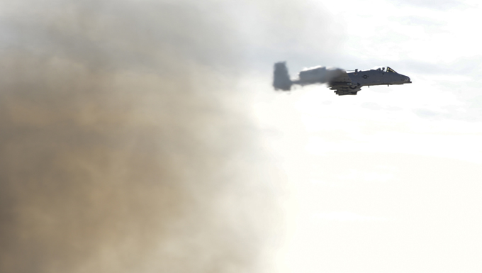 A-10 CTF conducts ops testing