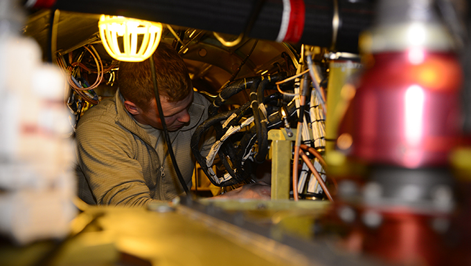 55th RQS: The maintainers that keep HH-60Gs flying
