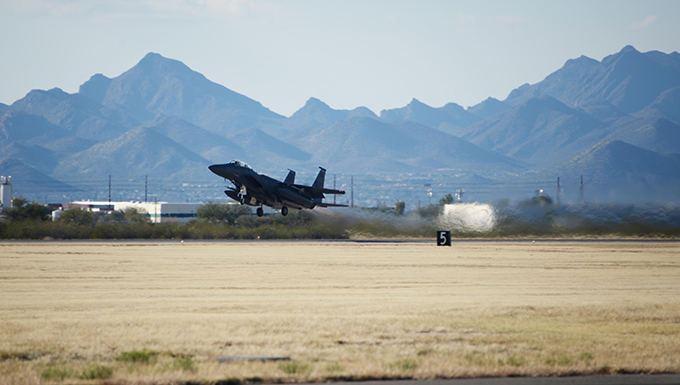 Students complete F-15 training at D-M