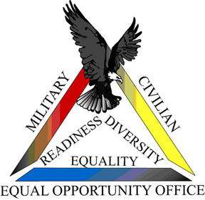 An image representing the Equal Opportunity emblem.