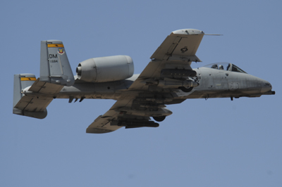An image of an A-10C Thunderbolt II stationed at Davis-Monthan AFB.