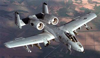 An image of an A-10C Thunderbolt 2 stationed at Davis-Monthan AFB.