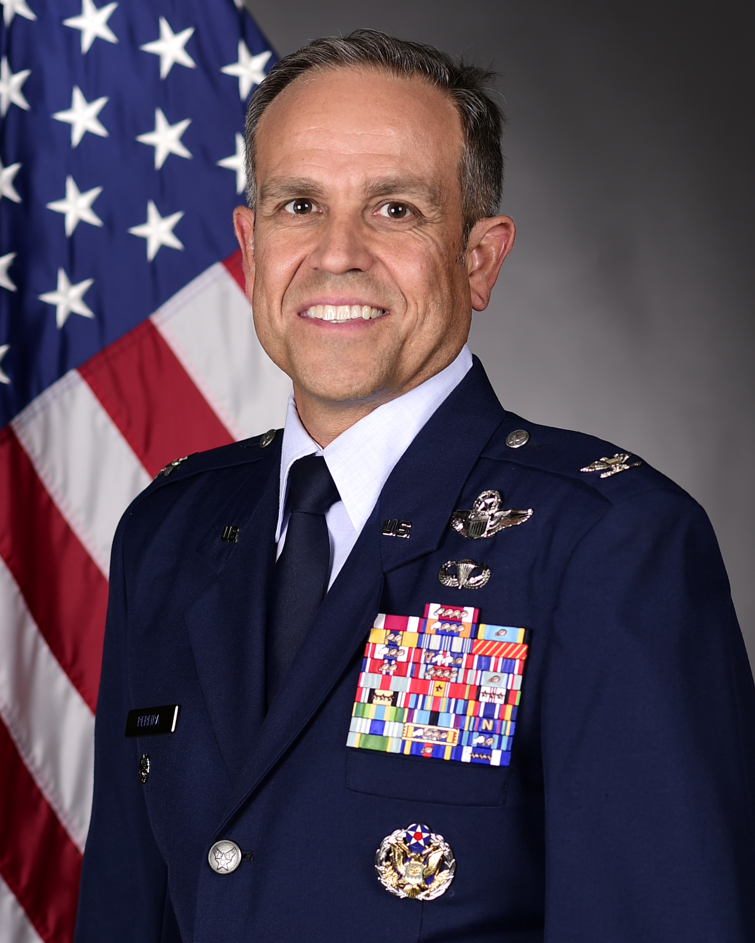 A professional image of Col. Victor Pereira